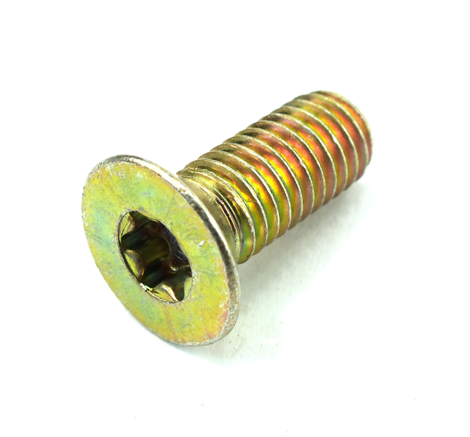 25 St M8 x 20 mm Senkkopf Torx 8.8 gelb DIN 965 Schraube Lagerauflösung S412-25